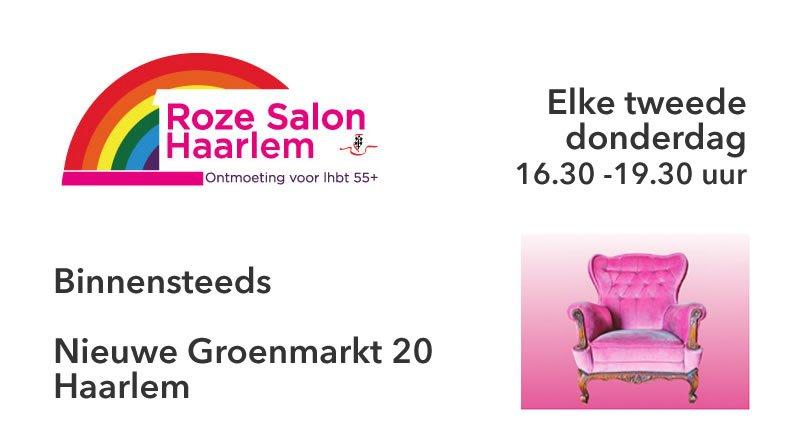 Roze Salon 55+ Haarlem