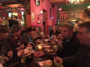 De Eetclub op 02-11-16 bij Mexicaans restaurant aan de Riviervismarkt in haarlem.