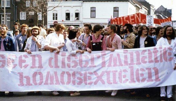 Demonstratie in Roermond 1979 © Hans van der Weijden