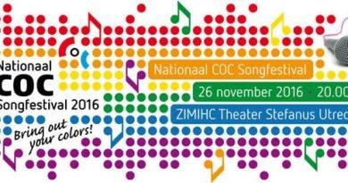Kaartverkoop COC Songfestival 2016 (bijna) van start