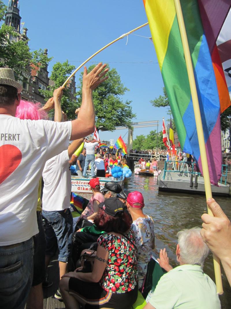 Grachtenparade GayOkay Alkmaar 2017