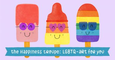 The Happiness Troupe ontwerpt nieuwe folder voor Voorlichting COC Kennemerland