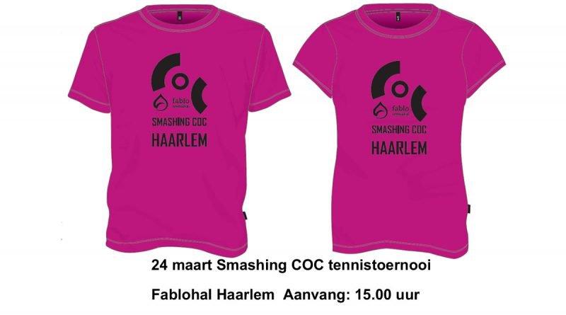 24 maart: Smashing COC toernooi