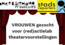 Vrouwen gezocht voor Haarlems toneelproject