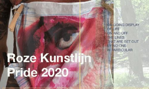 Roze Kunstlijn Pride tentoonstelling