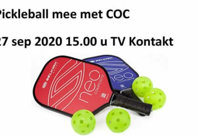 Pickleball mee met COC 27-9-2020