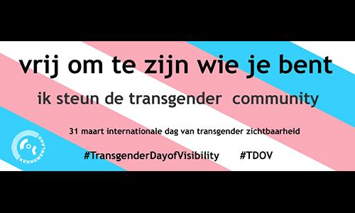 internationale dag van transgender zichtbaarheid