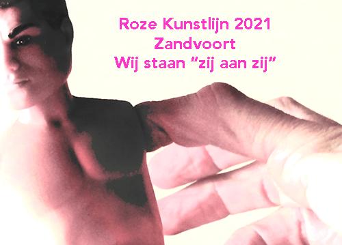 Roze Kunstlijn 2021 Zandvoort